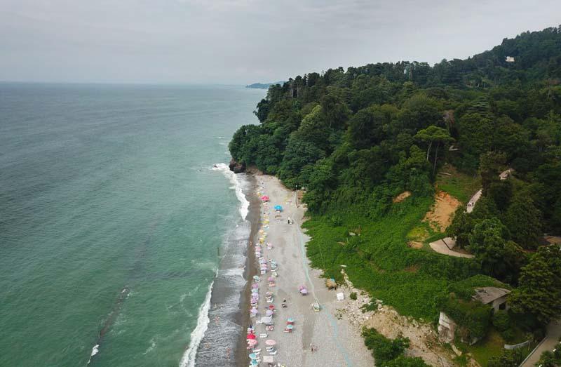 batumi beach mtsvane kontskhi