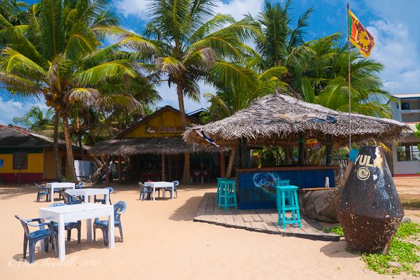 Hikkaduwa Sri Lanka  city photo : SriLanka Hikkaduwa11910Jan beach bar hikkaduwa sri lanka