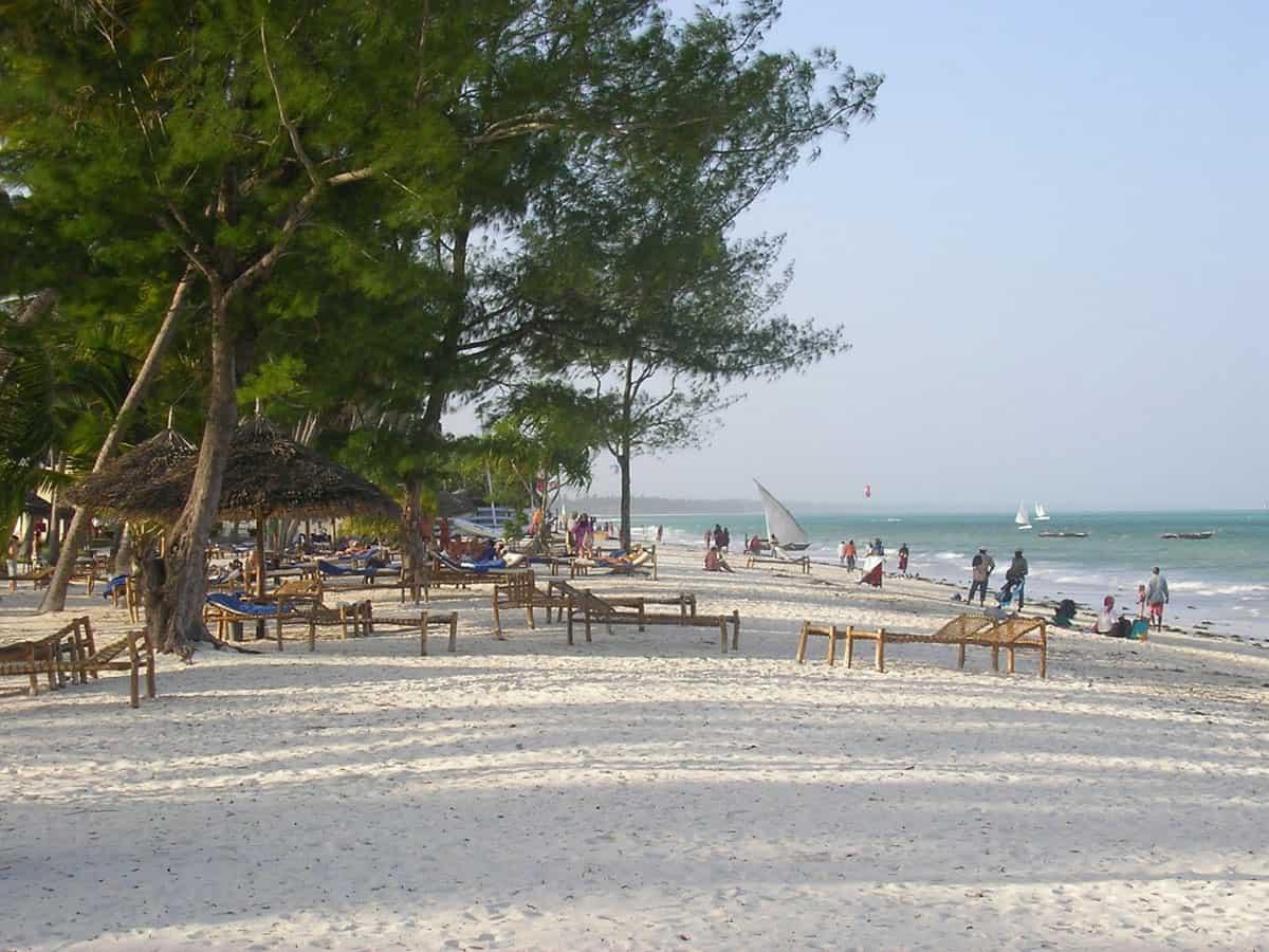 best beach zanzibar Kiwengwa