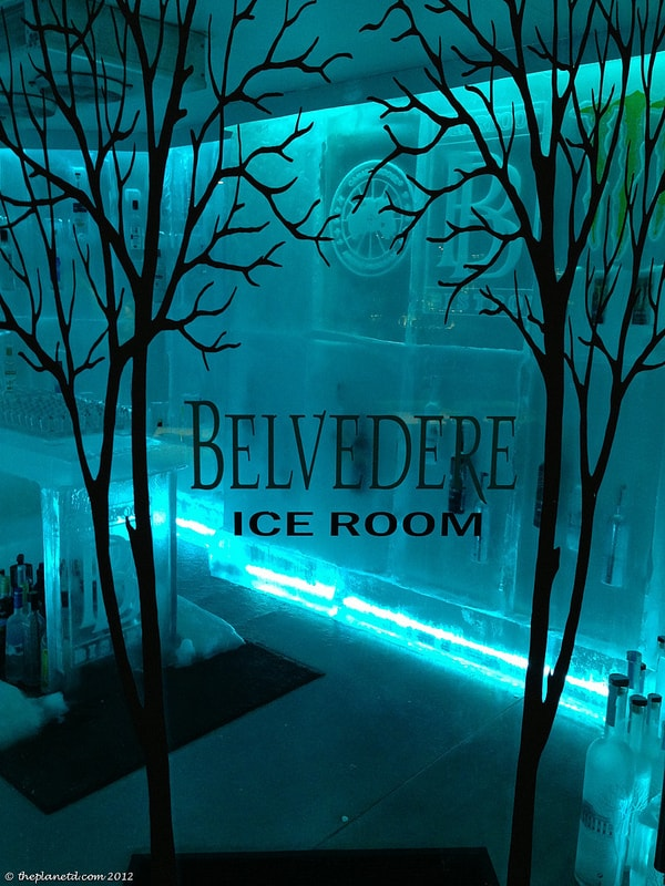 Belvedere Ice Room Bearfoot Bistro