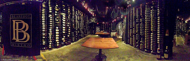bearfoot bistro wine cellar