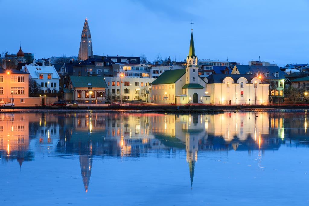 reykjavik waterfront beautiful cities
