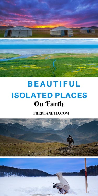 isolated places on earth