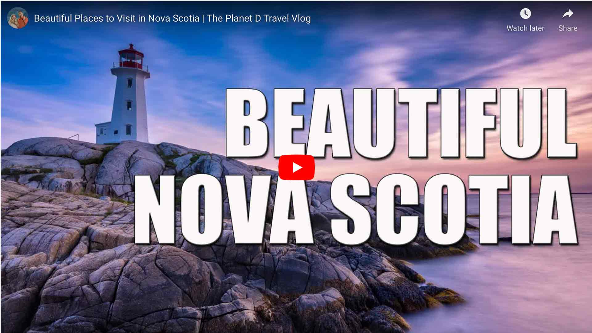 Beautiful Nova Scotia Video