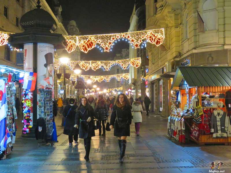 belgrade street scene | sebia blog