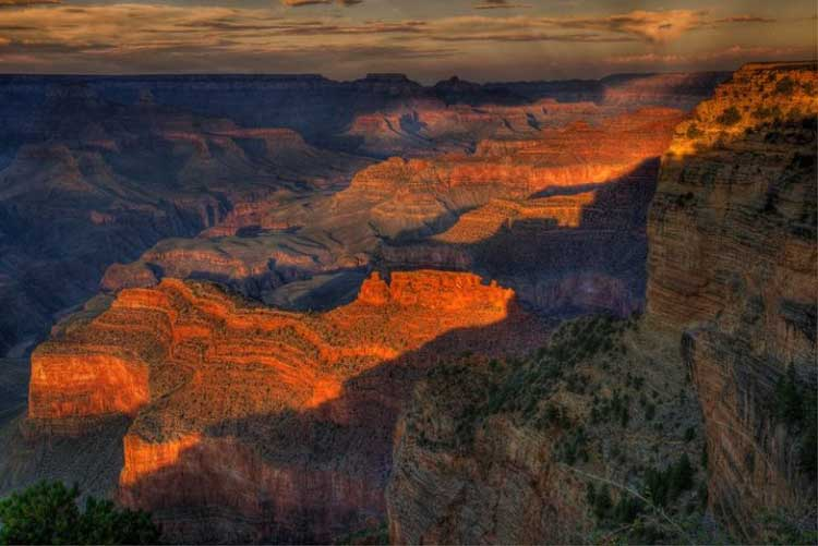 sunset at grand canyon | beautiful palces to visit in the united states