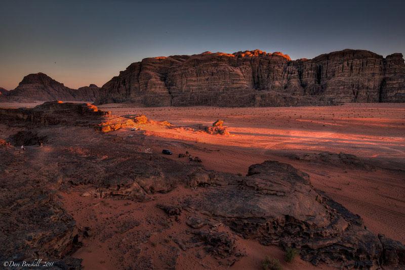 bedouin camping desert