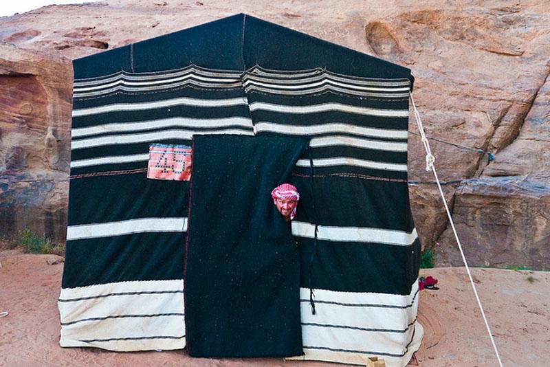 bedouin camping tent