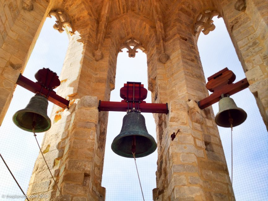 bells hanging in the bell tower