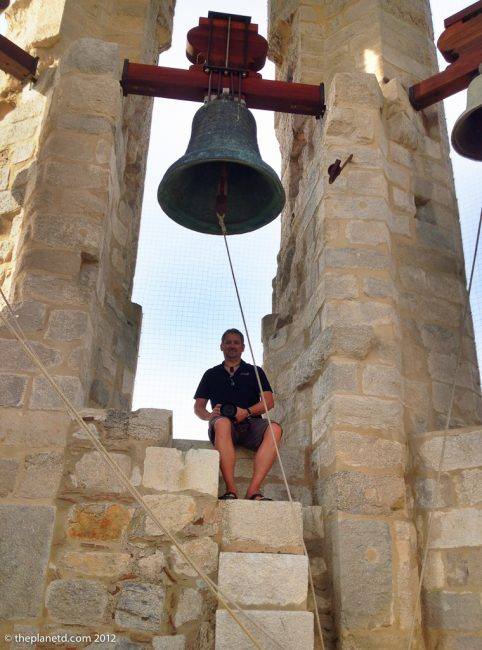 dave in the bell tower