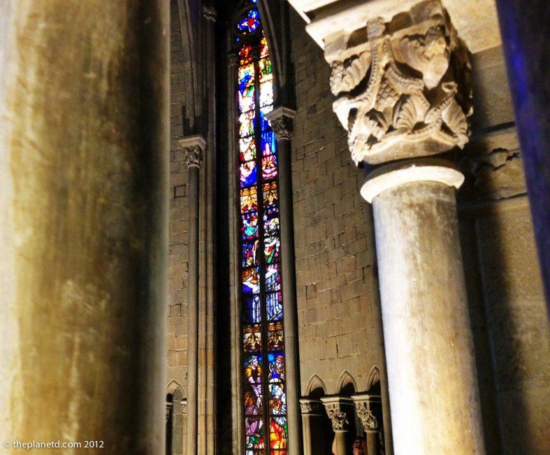 Interior Basilica Girona