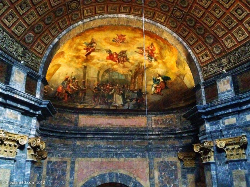 interior basilica of Girona