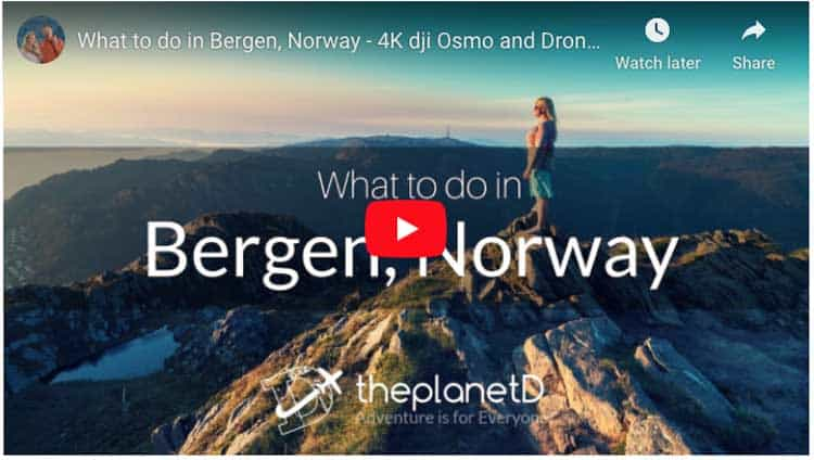 things to do in bergen norway video