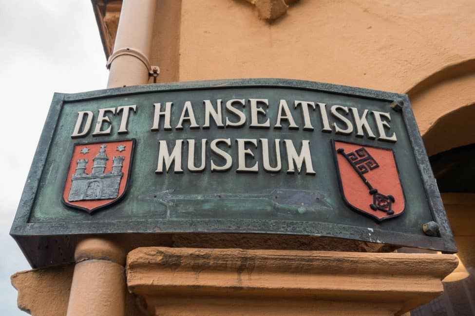 The Hanseatic Museum in Bergen, Norway