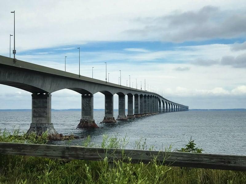 Confederation Bridge in P.E.I Canada