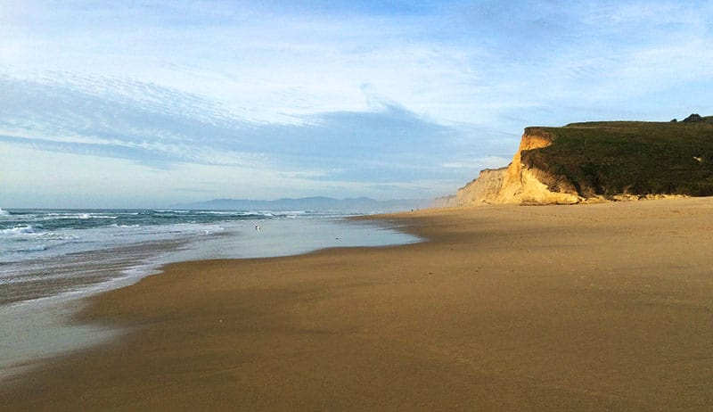best beaches in california pescadero