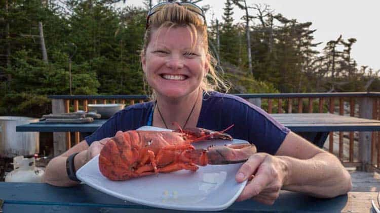 canadian food guide | lobster