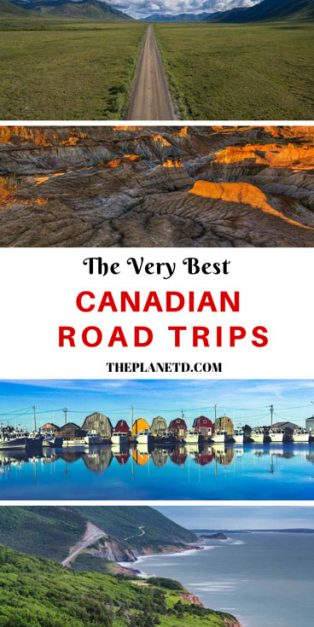 best canadian road trips