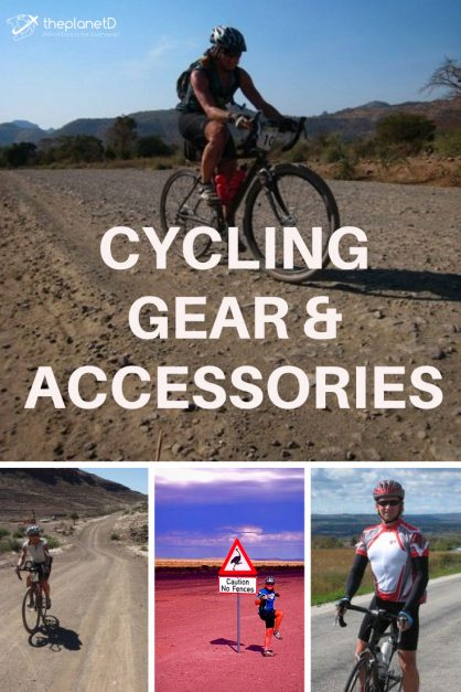 cycling gear and accessories