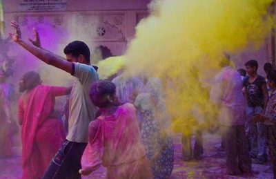 biggest festivals around the world - holi india