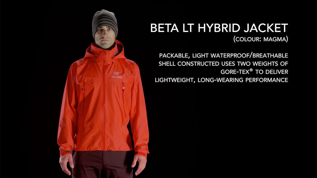 travel jacket | arcteryx hybrid