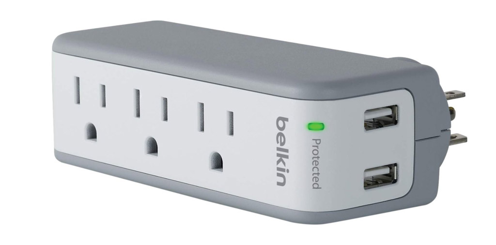 belkin mini surge protector | best travel gift ideas