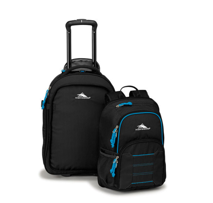 Convertible Backpack And Roller Carryon Travel Gift Ideas