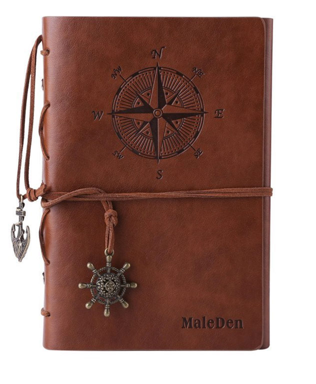 Best Gift for Travelers Leather Journal