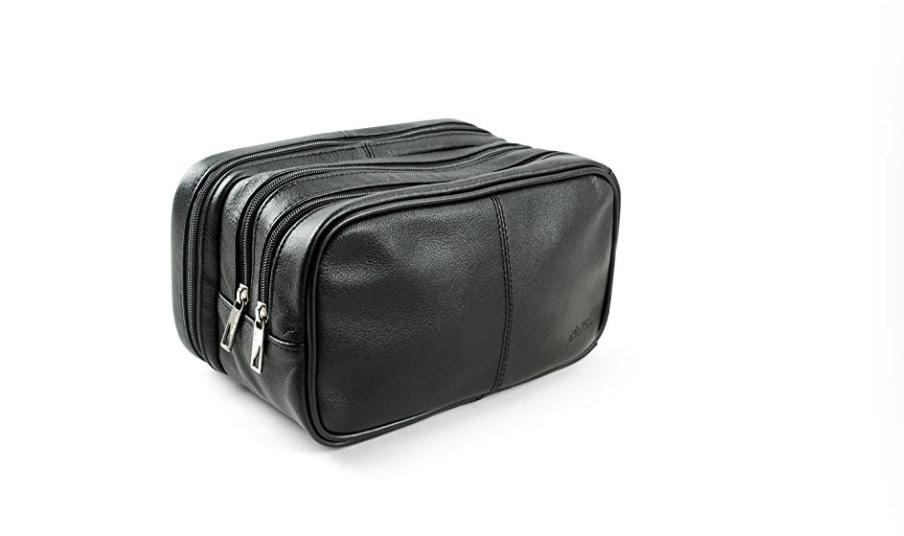 best gifts for travelers men's dopp kit
