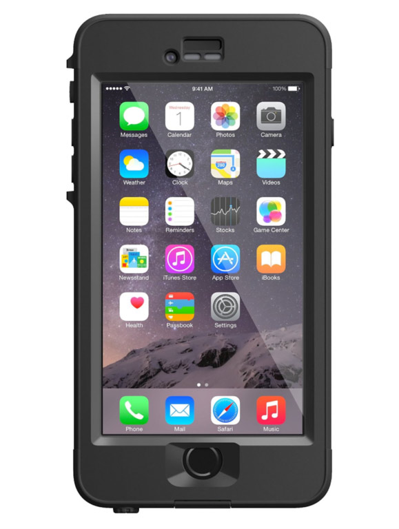 black lifeproof iPhone case | gifts for men travelers
