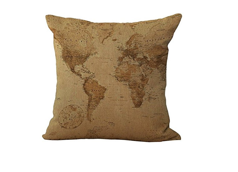 gifts for travelers throw pillow