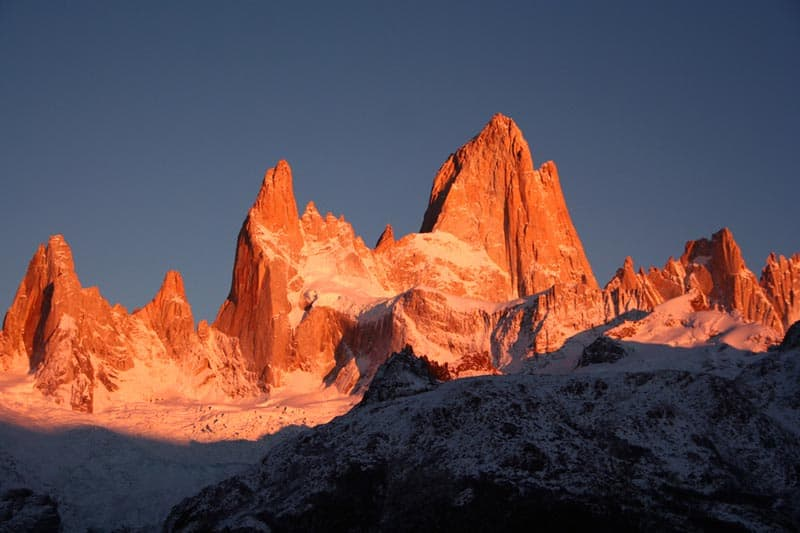 Fitz Roy best hikes south america