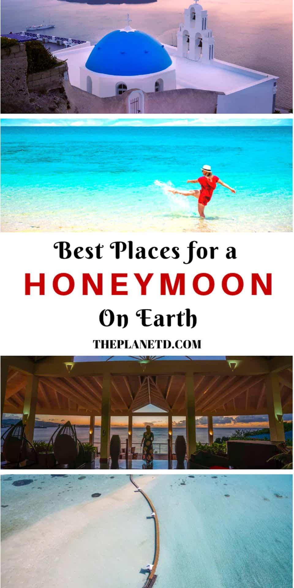 best honeymoon destinations around the world