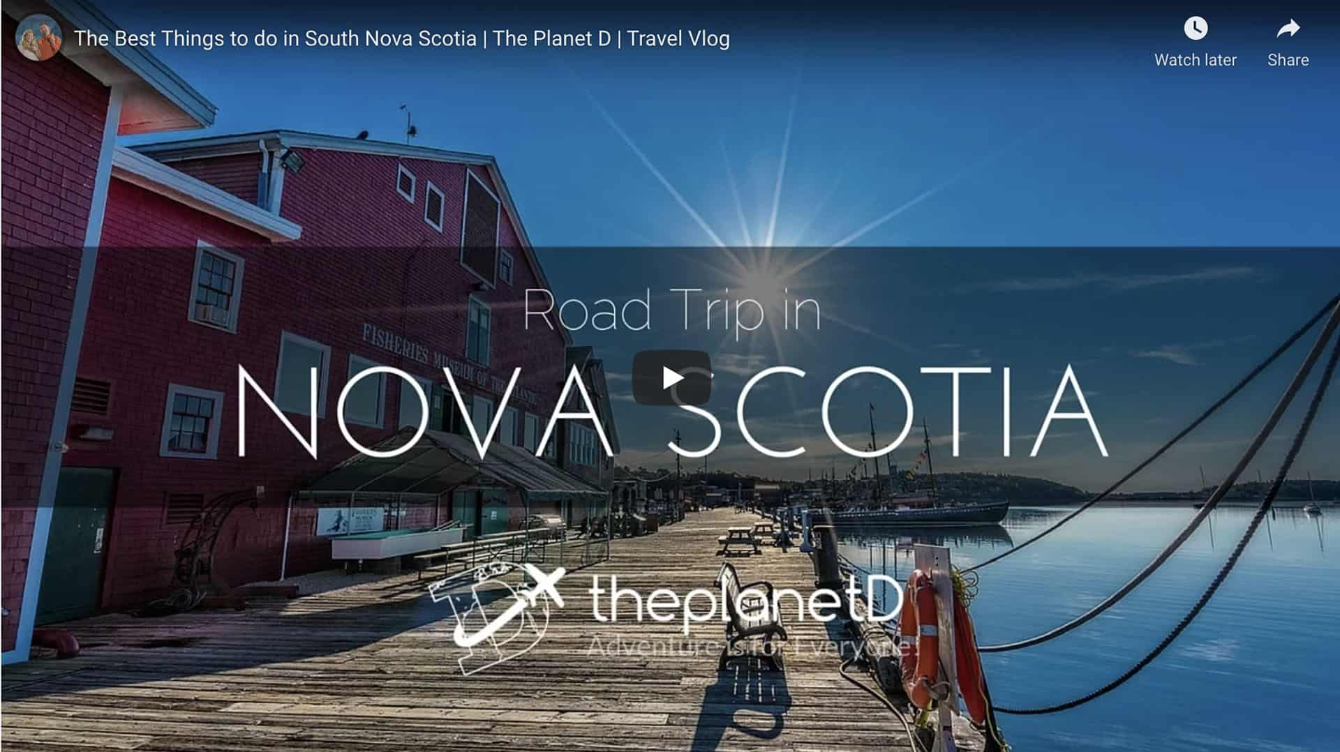 things to do in nova scotia south shore video