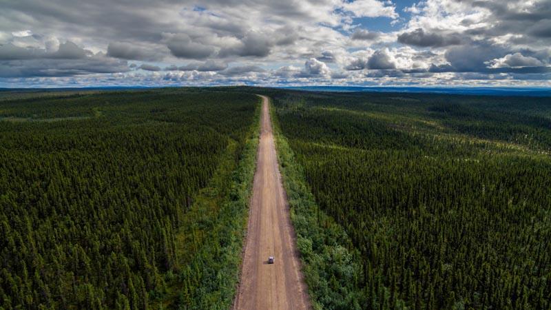 best road trips dempster highway