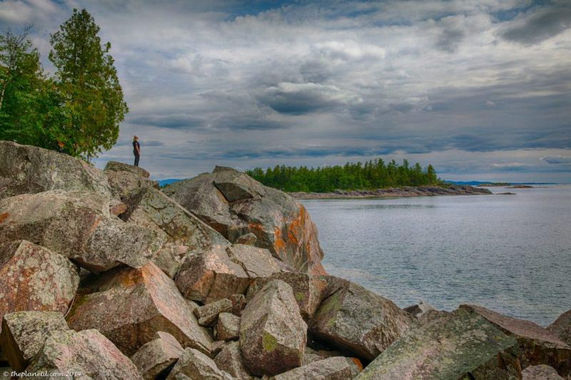 american road trip planner | lake superior circle tour