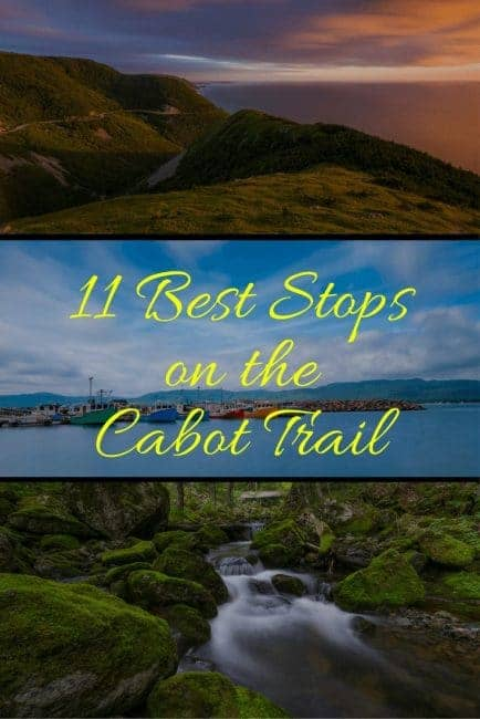 best stops cabot trail