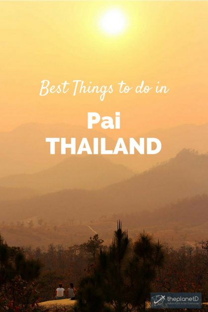 things to do in Pai Pinterest