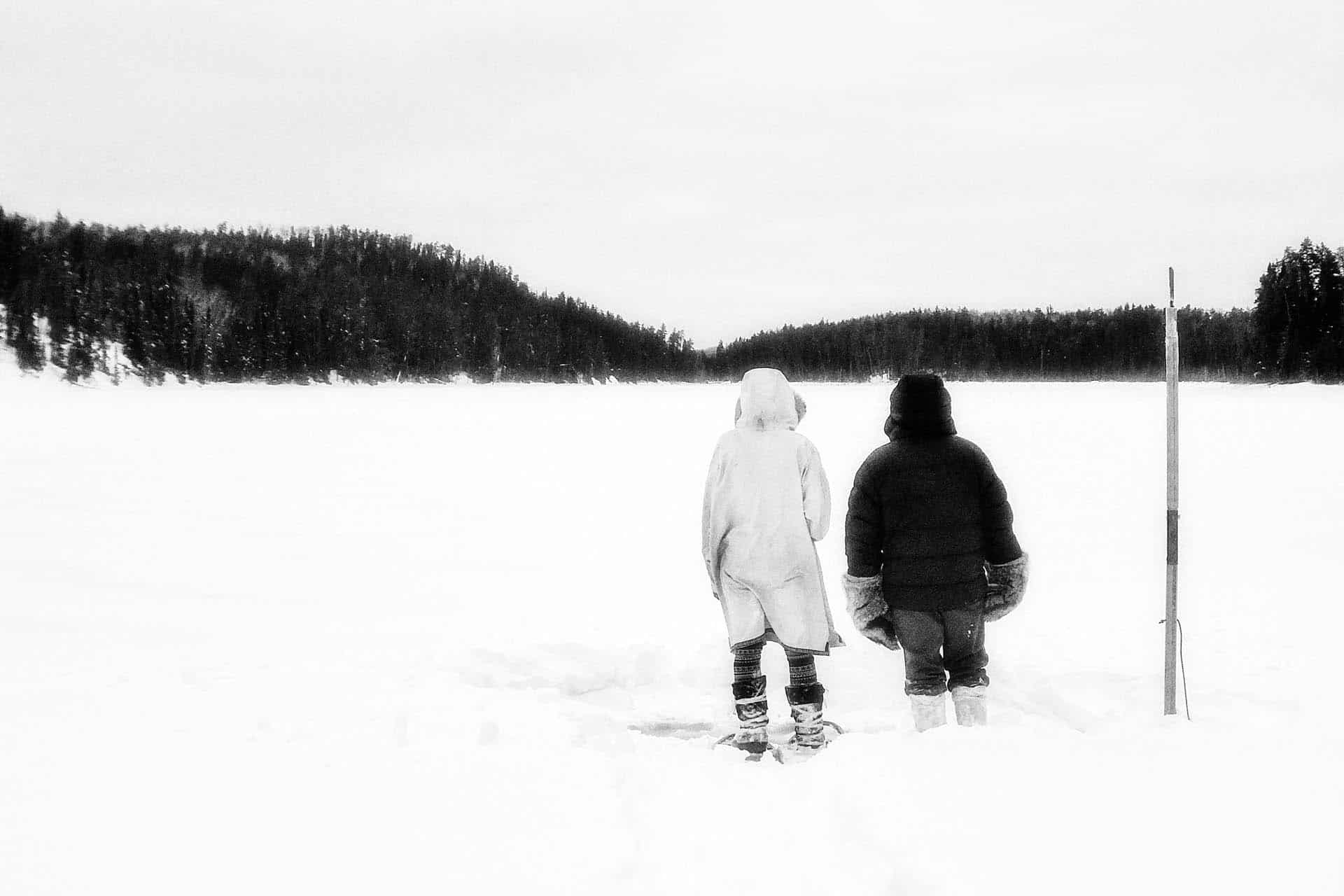 travel blogs couple in northern canada winter