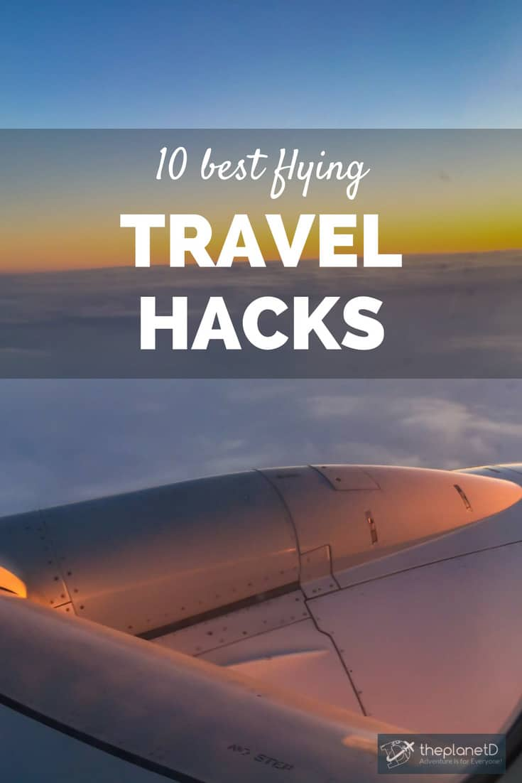 travel hacking tips for flying