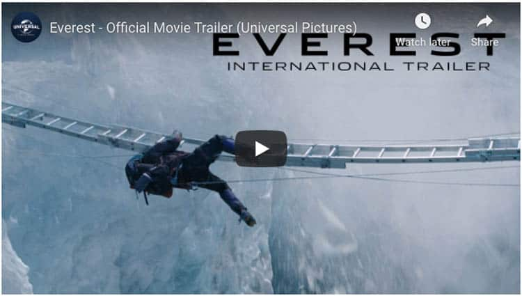 films about travel adventure | everest