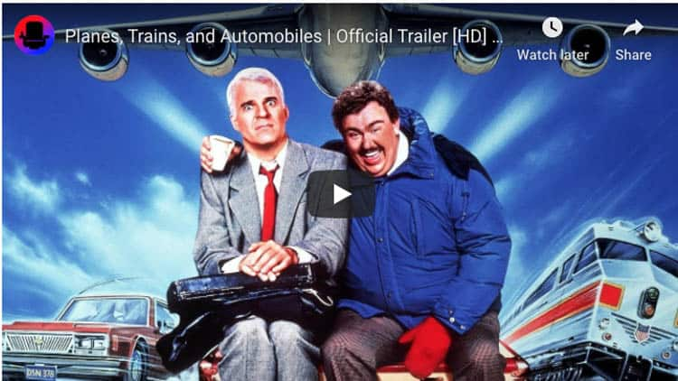 funny travel movie | planes trains and automobiles