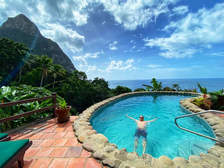 st lucia is the most beautiful tropical island in the world