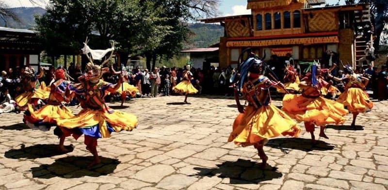 cultural experiences in bhutan festivals
