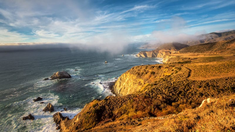 big sur photography guide fog