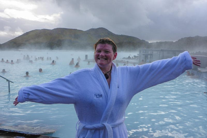 Blue Lagoon Iceland Deb in Robe