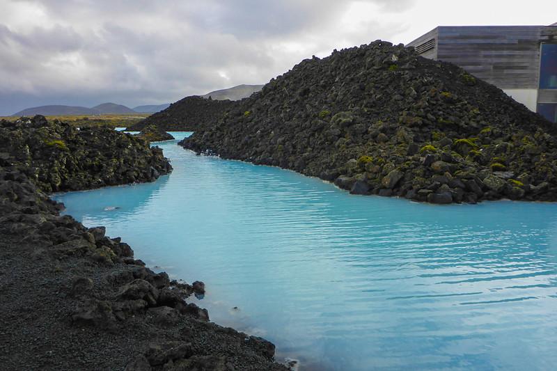 lagon bleu de l'Islande