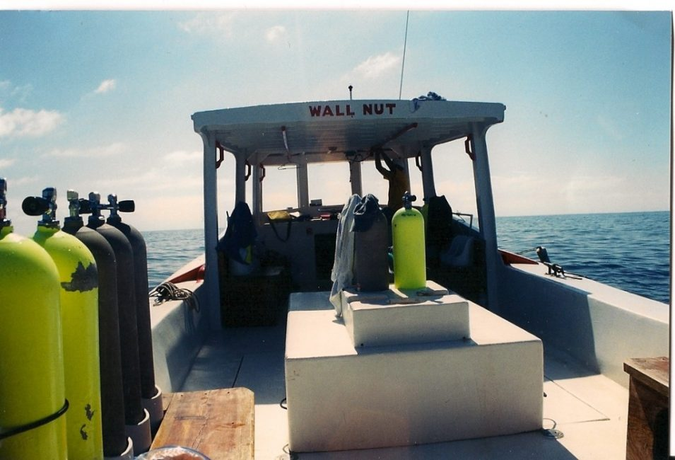One of our dive boats