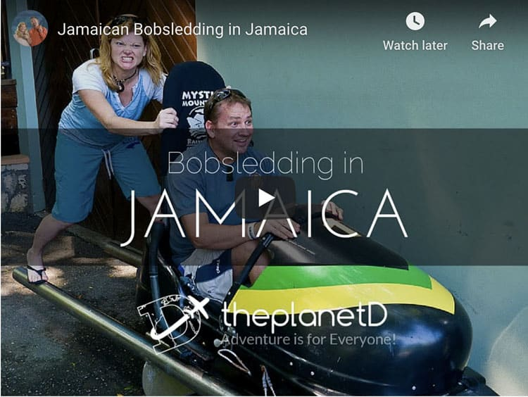 dave and debs jamaican bobsleigh adventure
