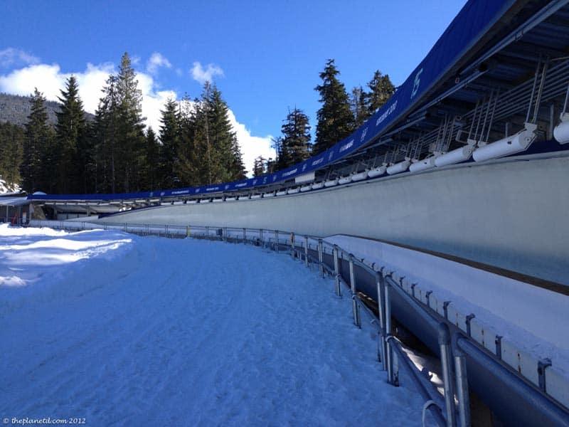 whistler bobsled track